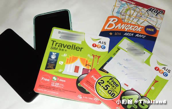 KLOOK泰國曼谷4G上網電話卡機場領取
