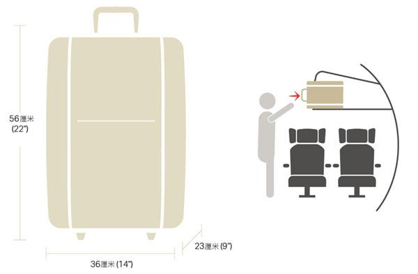 國泰航空官網手提行李規定