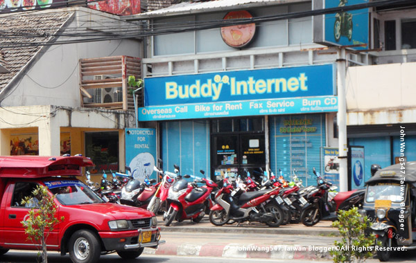 Buddy Internet car rental Chiang Mai