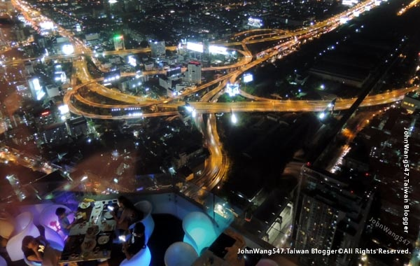 baiyoke sky hotel buffet  Bangkok night view7.jpg
