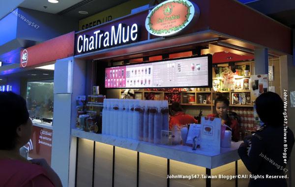 ChaTraMue泰國手標茶泰式奶茶曼谷國際機場Suvarnabhumi Airport