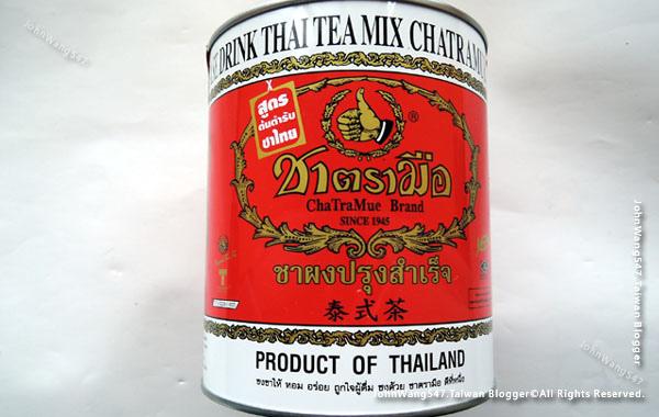 ChaTraMue泰國手標牌泰式茶