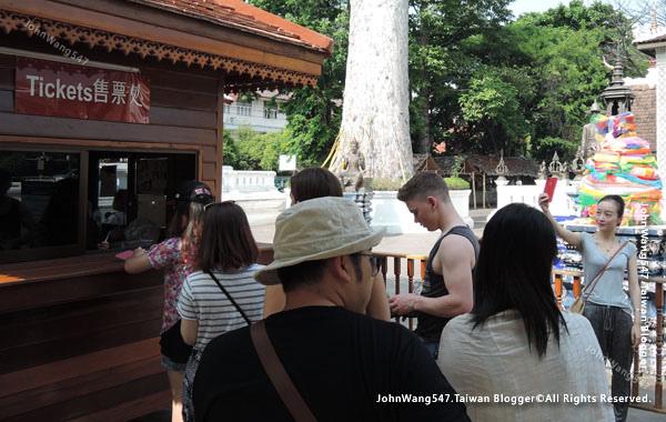 清邁佛寺Wat Chedi Luang柴迪隆寺2017門票