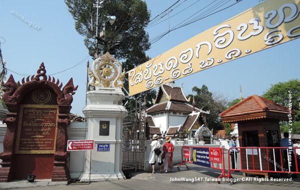 清邁佛寺Wat Chedi Luang柴迪隆寺2017