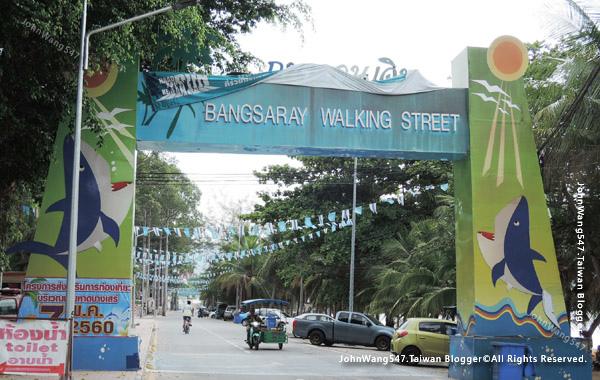 Pattaya Bangsaray walking street
