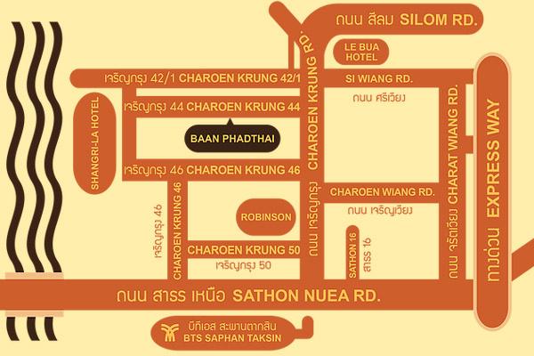 Baan Phadthai House of Phadthai MAP.jpg