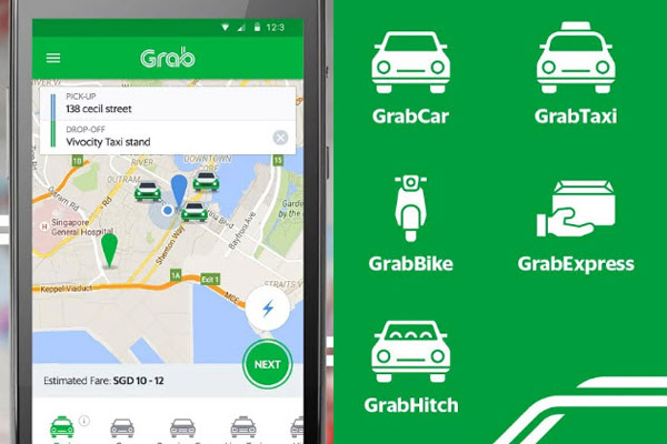 Grab Holdings APP