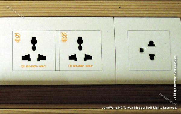 泰國插座電壓220伏特1