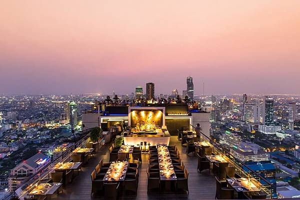 Banyan Tree Bangkok sky bar