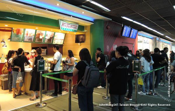 Krispy Kreme Doughnuts Bangkok Donmuang Airport