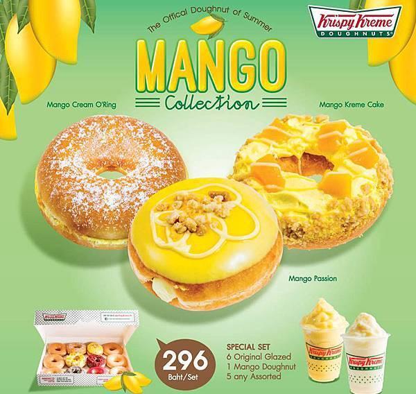 Krispy Kreme Doughnuts mango Bangkok2.jpg