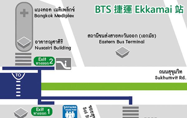 Ekkamai Eastern  Bus Terminal MAP.jpg