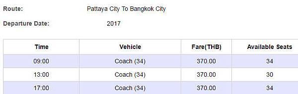 bell bus Pattaya City To Bangkok City time.jpg