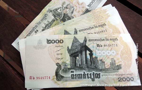 柬埔寨吳哥窟旅遊-柬幣2千Riel