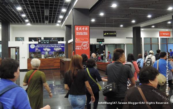 柬埔寨REP暹粒吳哥國際機場出關