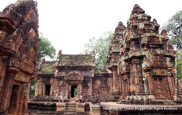 柬埔寨吳哥旅遊Banteay Srei女皇宮.jpg