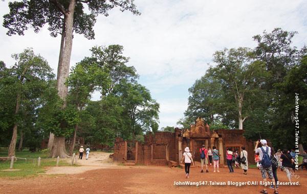 柬埔寨吳哥旅遊Banteay Srei女皇宮6.jpg