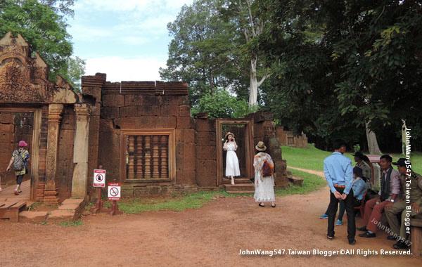 柬埔寨吳哥旅遊Banteay Srei女皇宮8.jpg