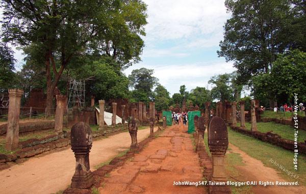 柬埔寨吳哥旅遊Banteay Srei女皇宮9.jpg