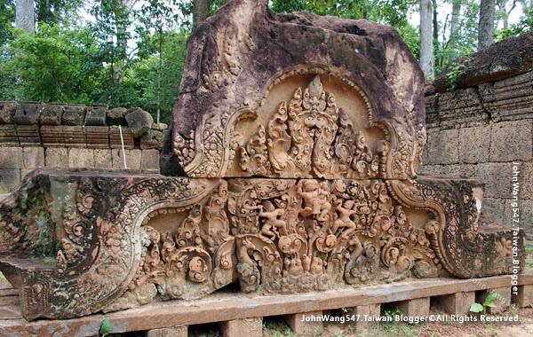 柬埔寨吳哥旅遊Banteay Srei女皇宮11.jpg