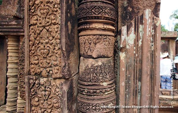 柬埔寨吳哥旅遊Banteay Srei女皇宮14.jpg