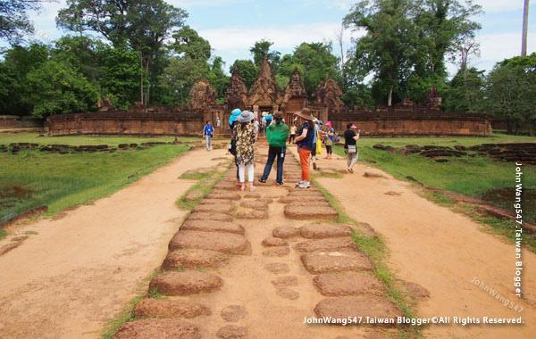 柬埔寨吳哥旅遊Banteay Srei女皇宮16.jpg