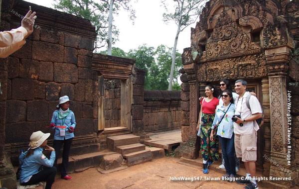柬埔寨吳哥旅遊Banteay Srei女皇宮19.jpg