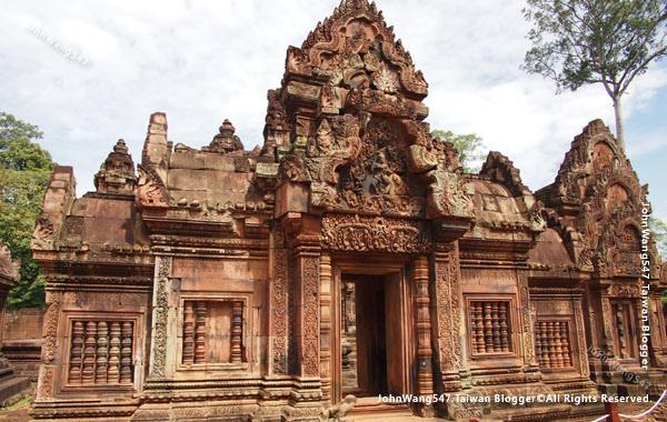 柬埔寨吳哥旅遊Banteay Srei女皇宮20.jpg