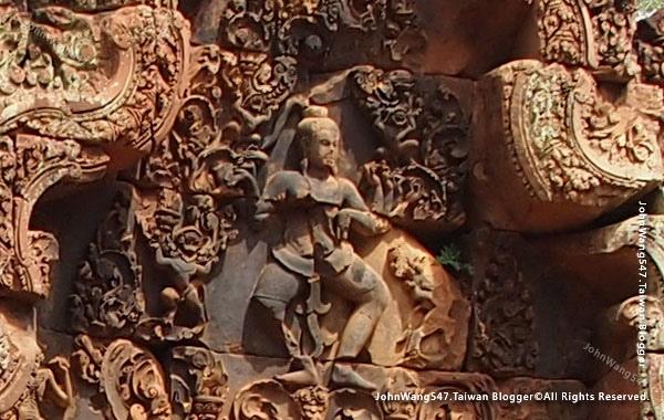 柬埔寨吳哥旅遊Banteay Srei女皇宮21.jpg