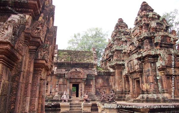 柬埔寨吳哥旅遊Banteay Srei女皇宮22.jpg