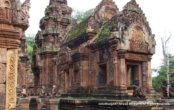 柬埔寨吳哥旅遊Banteay Srei女皇宮23.jpg