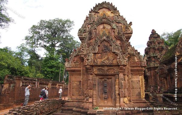 柬埔寨吳哥旅遊Banteay Srei女皇宮24.jpg