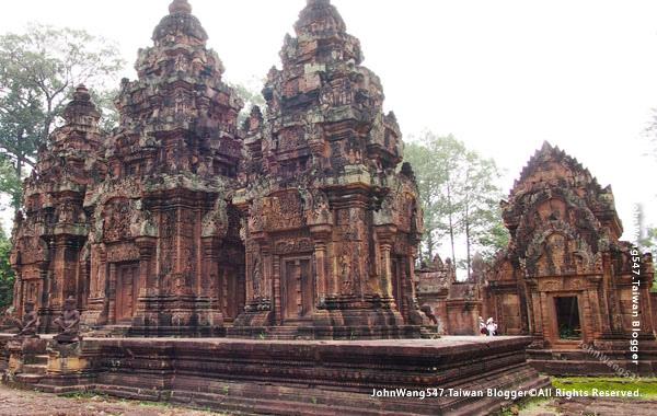 柬埔寨吳哥旅遊Banteay Srei女皇宮25.jpg