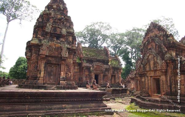 柬埔寨吳哥旅遊Banteay Srei女皇宮26.jpg