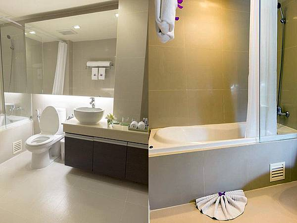 Aspen Suites Sukhumvit BATHROOM
