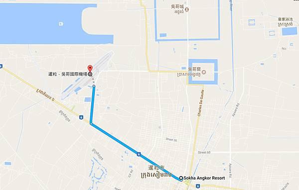 暹粒-吳哥國際機場到Sokha Angkor Resort飯店.jpg