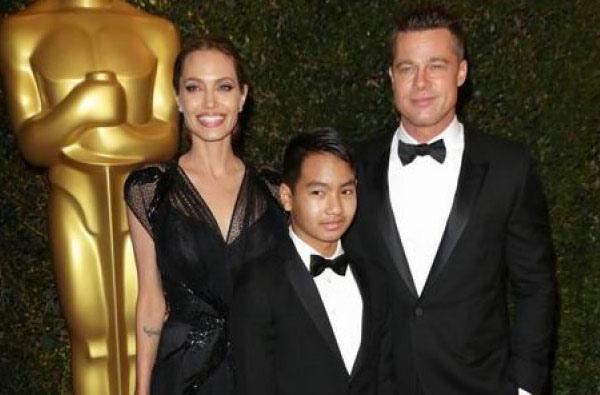 安潔莉娜裘莉(Angelina Jolie)11歲養子梅鐸斯 (Maddox)2.jpg