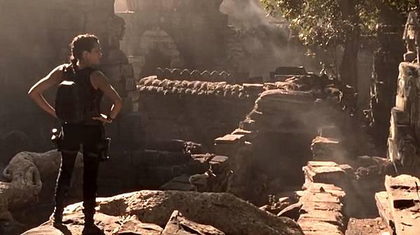 Lara Croft Tomb Raider 2001 in Angkor Cambodia