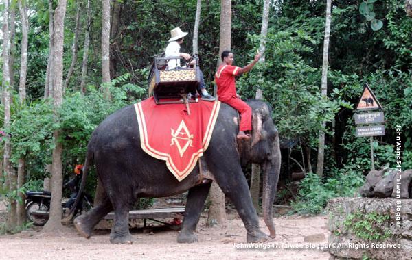 巴肯寺Phnom Bakheng Elephant ride2.jpg