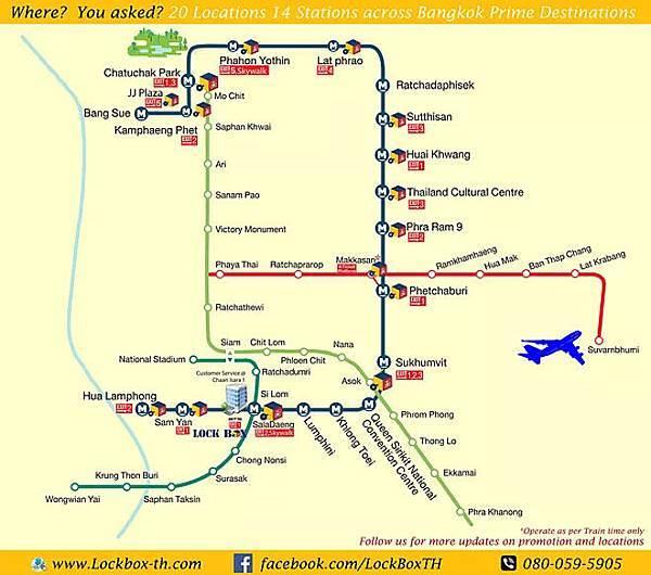 LockBox Thailand  Bangkok Locker MAP.jpg
