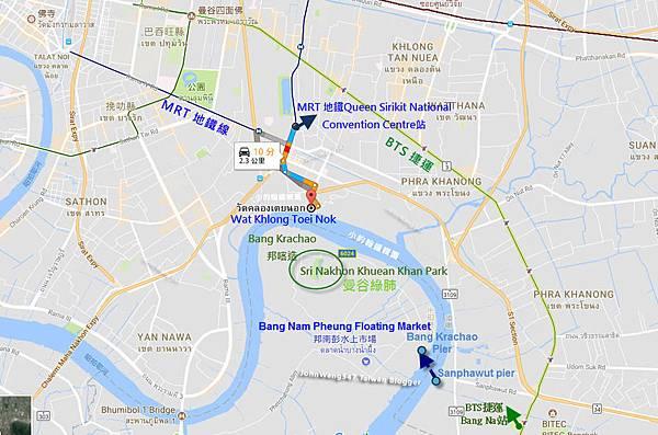 Bang Krachao Bang Nam Pheung Floating Market MAP.jpg