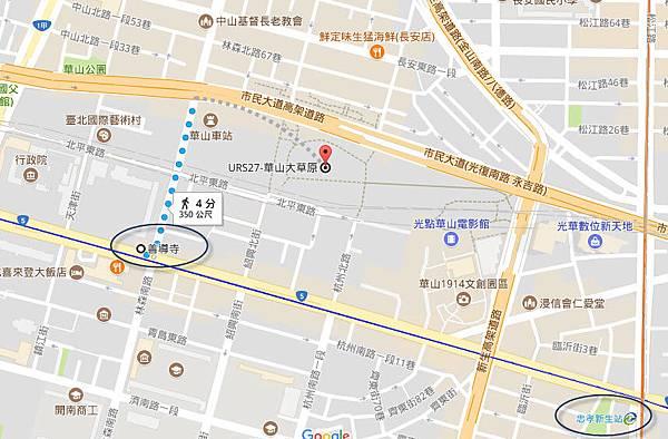 華山大草原位置 地圖