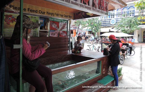 Angkor Siem Reap Market fish spa.jpg