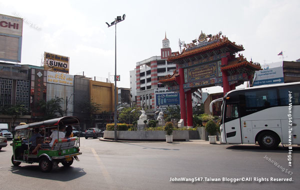 Bangkok Chinatown gate