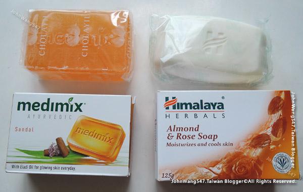 印度Medimix阿育吠陀草本美肌皂PK印度Himalaya保溼香皂