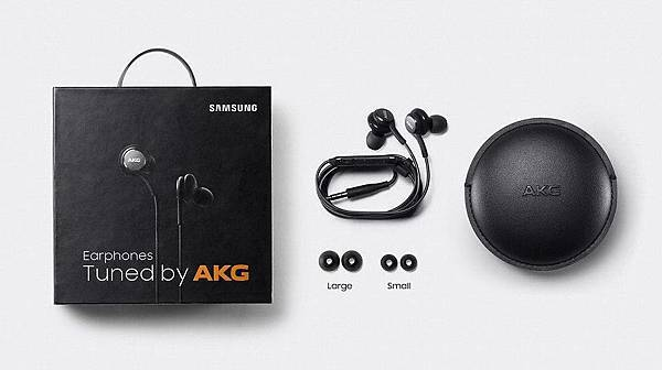 Samsung Galaxy S8隨機附贈AKG by Harman耳機