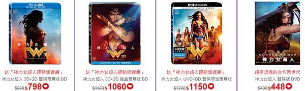 神力女超人 Wonder Woman藍光DVD