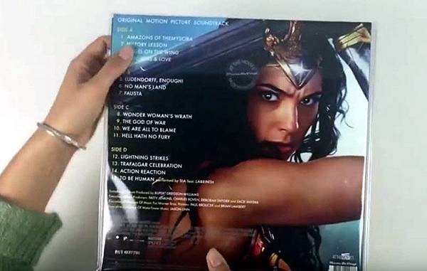 黑膠唱片LP 神力女超人 Wonder Woman1