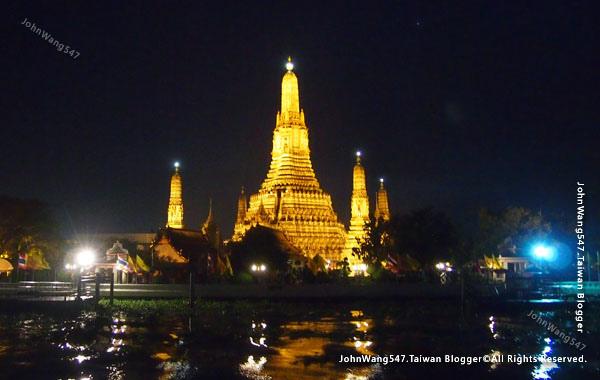 鄭王廟 Wat Arun夜景Night