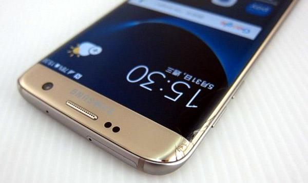 Samsung Galaxy S7 edge broken